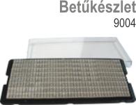 9004 betűkészlet Budapesten olcsón
