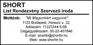 Traxx 9026 bélyegzőlenyomat bélyegzőkészítés Budán gyorsan olcsón