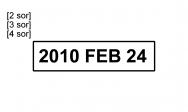 Traxx Eco 1 bélyegzőlenyomat dátumbélyegző bélyegzőkészítés Budán gyorsan olcsón