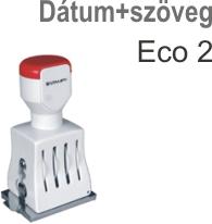 Traxx Eco 2 dátum+szöveg bélyegző készítés Budapesten azonnal olcsón