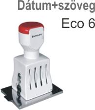 Traxx Eco 6 dátum3szöveg  bélyegző készítés Budapesten azonnal olcsón