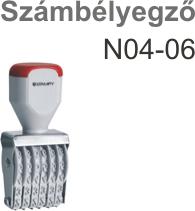 Traxx N04-06 számbélyegző Budapesten azonnal olcsón