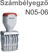 Traxx N05-06 számbélyegző Budapesten azonnal olcsón