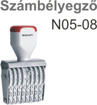 Traxx N05-08 számbélyegző Budapesten azonnal olcsón
