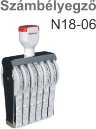 TRAXX N18-06 számbélyegző Budapesten azonnal olcsón