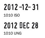 Trodat 1010 bélyegzőlenyomat dátumbélyegző bélyegző készítés Budán sürgősen olcsón