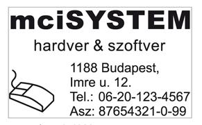 Trodat 4929-es szövegbélyegző nyomatminta 50x30mm-es