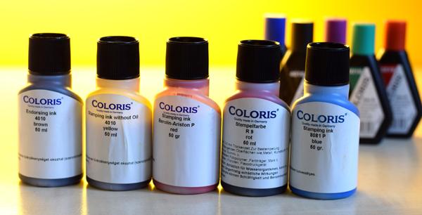 Coloris bélyegző készítés UV festék Budán